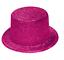 Rosa Glitter Sparkle Lincoln Top Hat Hen Night Costume Festa Accessorio Q26