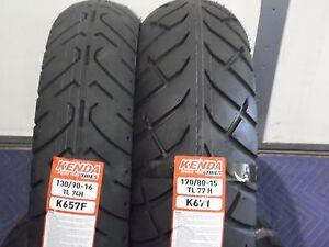 Yamaha V Star 650 Classic Xvs650 Tire Set Motorcycle Tires 130 90 16 170 80 15 Ebay