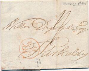 Lettre-Edimbourg-Ecosse-1803-Cover-Scotland