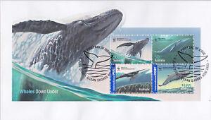 2006-FDC-Australia-Whales-Down-Under-M-S-Pict-FDI-034-OCEAN-SHORES-034
