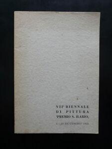 VII° Biennale di Pittura Premio S. Ilario 4 18 Settembre 1966 Opere Premiate - Italia - VII° Biennale di Pittura Premio S. Ilario 4 18 Settembre 1966 Opere Premiate - Italia