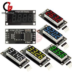 "0.36/"" TM1637 Yellow LED Display 7-Segment 4-Bit Digital Tube Module for Arduino"