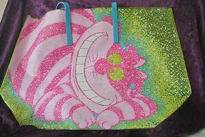 plastica In Cat nuovo Alice Parks Cheshire Disney in da spiaggia Wonderland Borsa nqpHOxv