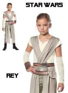 4e4f2f27237 Details about Star Wars - The Force Awakens Rey Child Costume - Disney  Girls Star Wars Costume