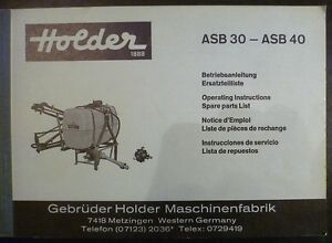 Holder-ASB30-ASB40-Anbauspritze-Anleitung-ET-Liste