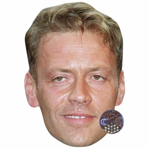 Card Face and Fancy Dress Mask Rocco Siffredi Celebrity Mask