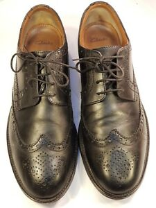 new images of high fashion buying new Details about CLARKS XL EXTRALIGHT Lace-up Black Leather Brogues UK 11G  Excellent Condition.