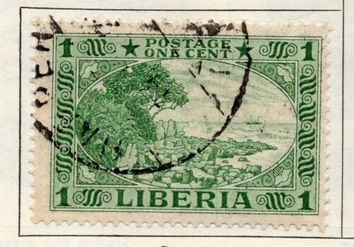 Liberia 1921 Early Issue Fine Used 1c. 148278