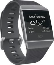 Artikelbild Fitbit Ionic Smartwatch Charcoal-Smoke Gray Fitnessuhr Herzfrequenz