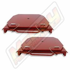 Alignment Rack Heavy Duty Truck Steel Turn Plate Set Tables with Handles Hunter
