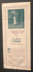 19-Teens Brochure  THE SANTO VACUUM CLEANER Cleans Up Tuberculosis Dust!
