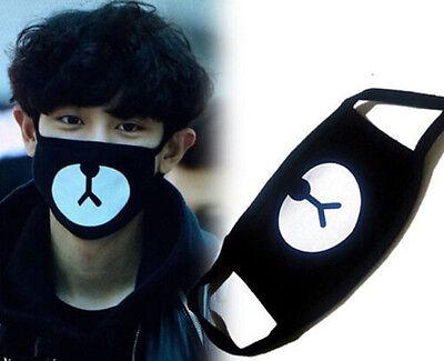 EXO Chan Yeol Bear Mouth Mask Muffle EXO-K Chanyeol Face Respirator HOT X IUS