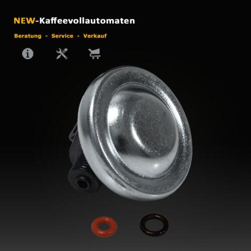 Membranregler Druckregler V2 Dichtung zu Pumpe Jura AEG Krups Kaffeevollautomat