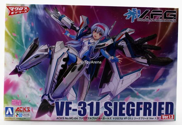 Aoshima Macross Delta Variable combatiente Girls VF-31J Siegfried  35th Anniversary  lo stile classico