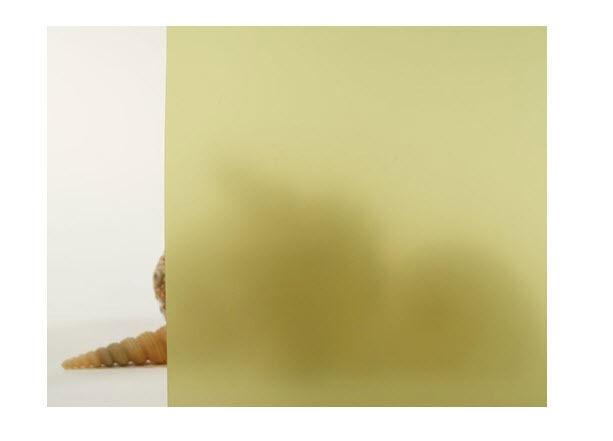 Amarillo Esmerilado Película De La Ventana 30  de ancho x 25 pies. Rollo