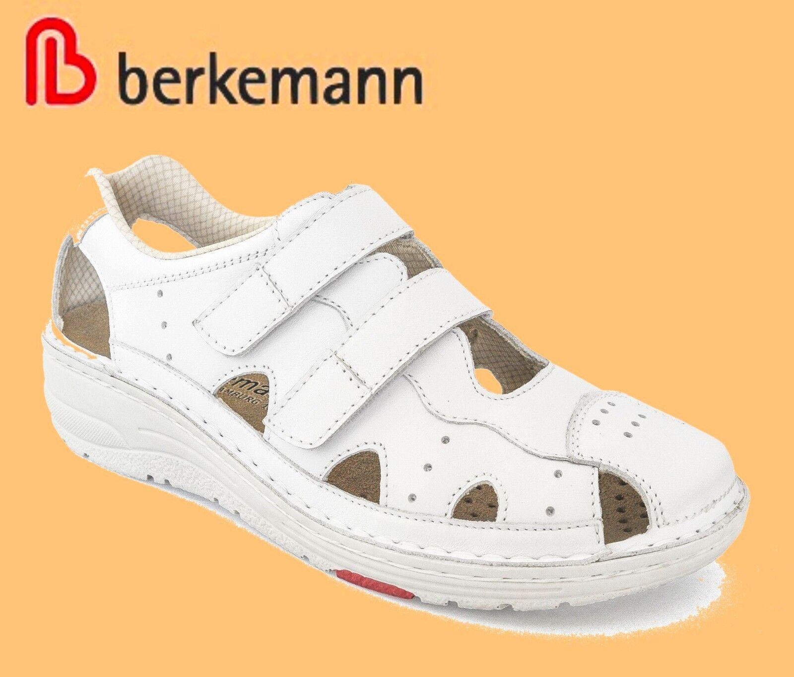 Sandalen Berkemann Sandaletten Schuhe Damen Leder WECHSELFUßBETT Larena ##