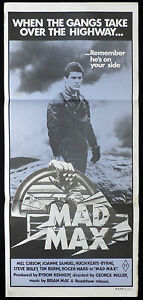 MAD-MAX-Vintage-Original-Australian-daybill-Movie-poster-Mauve