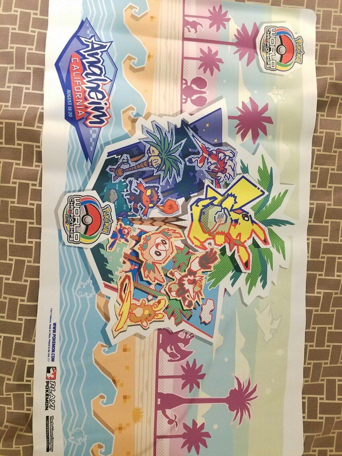 Pokemon 2017 world championships playmat