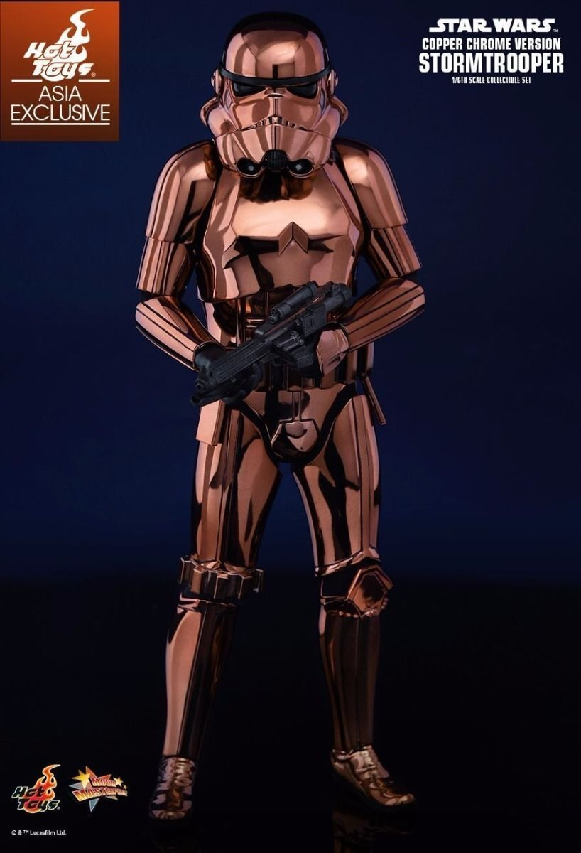 Movie Masterpiece STAR WARS STORMTROOPER COPPER CHROME Ver 1/6 Figure Hot Toys