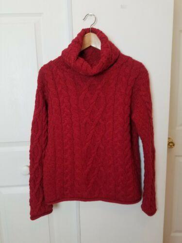 Inis Crafts Ireland Sweater Sz Medium Merino Wool
