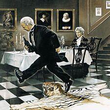 Renato Casaro Dinner for One Poster Kunstdruck Bild 70x70cm - Germanposters