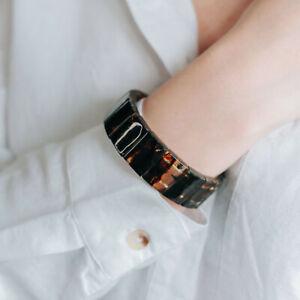 Natural Baltic Amber Bracelet Handmade Quality Luxury Black Beads Polished Amber