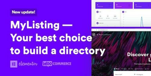 Directory /& Listing WordPress Theme MyListing