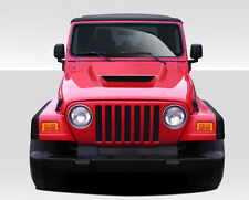97-06 Jeep Wrangler Duraflex CV-X Hood non highline fenders 109257
