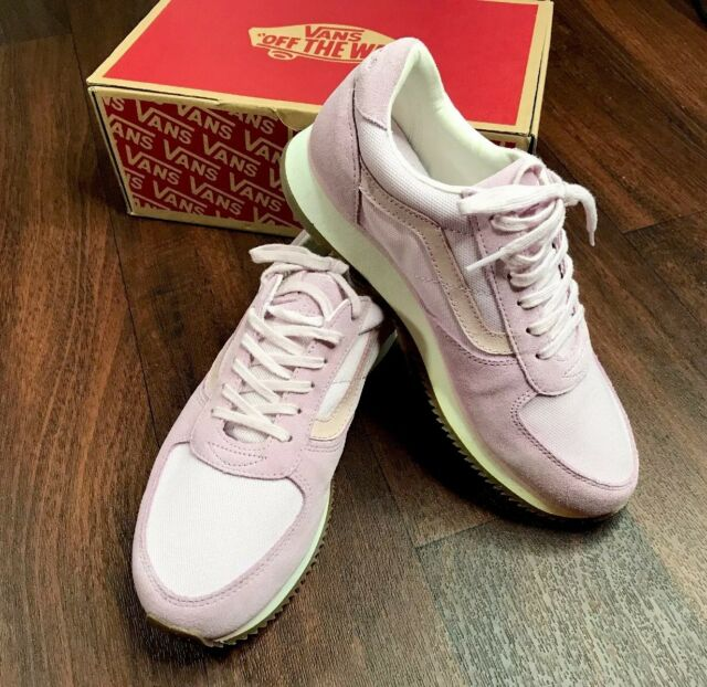 4570b794fac876 VANS Runner Lilac Snow Mens Gray Suede Athletic Lace up Running ...