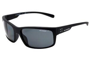 ARNETTE Bushing AN4244 01 81 Matte Black Polarized Grey 62 mm Men/'s Sunglasses
