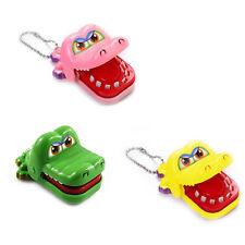 New Toy Crocodile Dentist Bite With Keychain Mouth Kids Children Gift