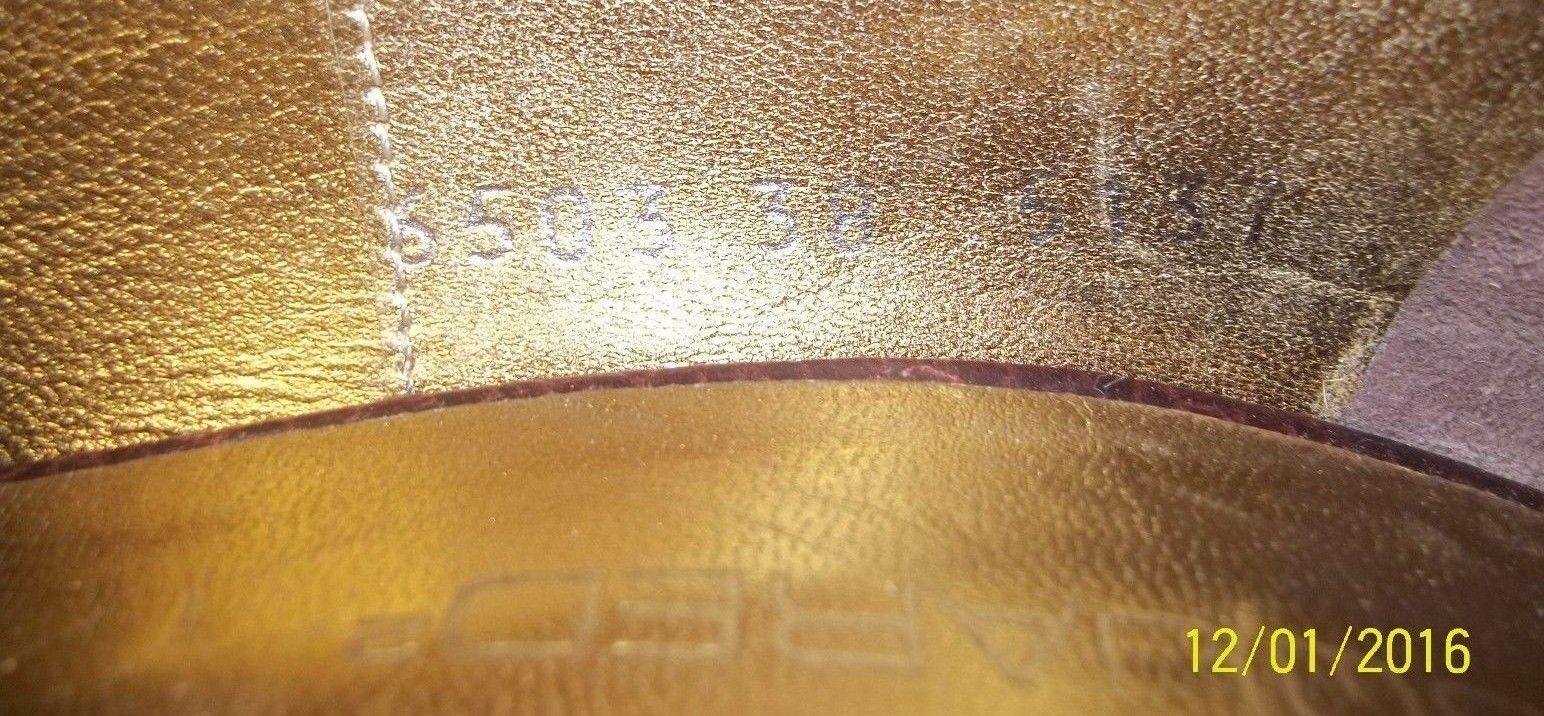 DsquaROT2 Damenschuhe Heels EU Braun 38 US 8 Braun EU Leder Grün Suede Buckle 174 cfaf1c