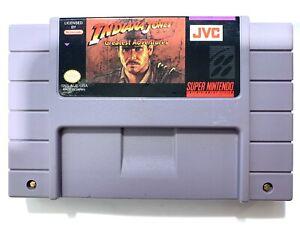 Indiana-Jones-039-Greatest-Adventures-SUPER-NINTENDO-SNES-GAME-TESTED-WORKING
