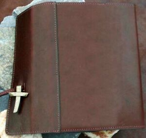 Leather-Wrap-Bible-Cover-Burgundy-Extra-Large
