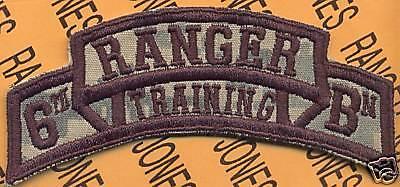 5th RTB AIRBORNE RANGER School Cadre scroll patch