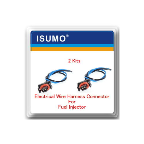 Set 2 Pigtail Wire harness Connector of Fuel Injector TJ32 For GM 6.0L 7.0L 7.4L