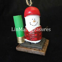 S'mores Hunting Ornament