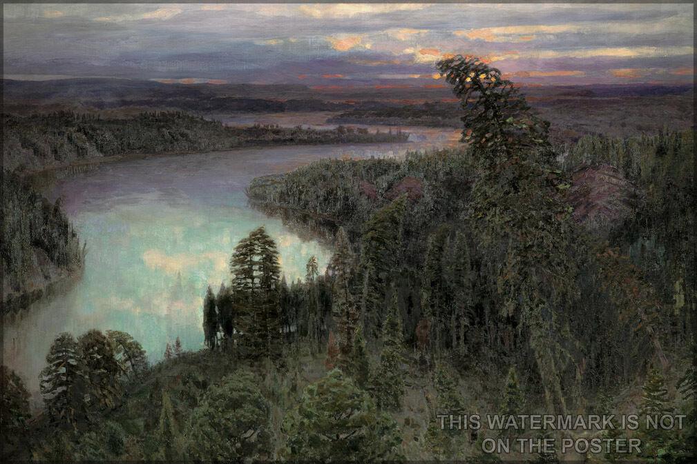 Plakat, Viele Größen; The Northern Land Viktor Vasnetsov. (1899