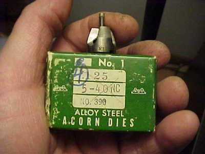 NOS Greenfield 5-44 NC Acorn Die No 1 USA No 390 Gunsmith Hobbyist
