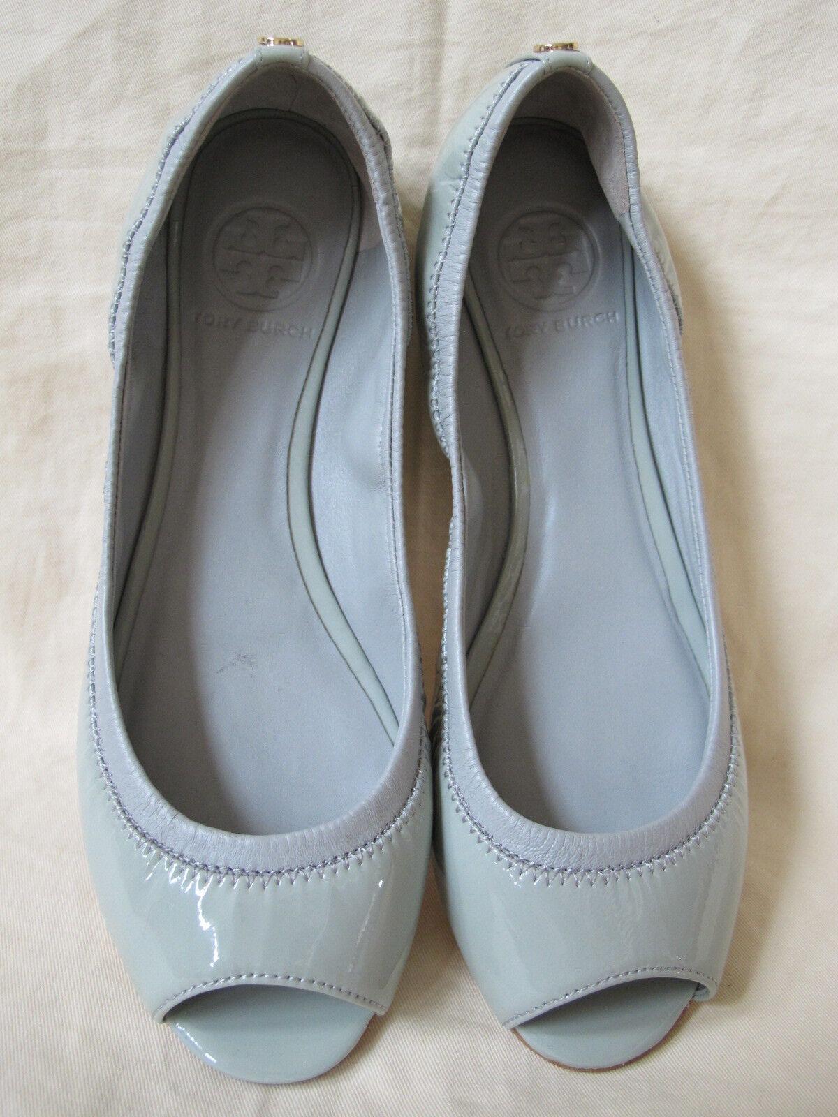 New Tory Burch Women's Eddie Eddie Eddie Peep Toe Ballet Flat (71 2)  12138234 807a2c