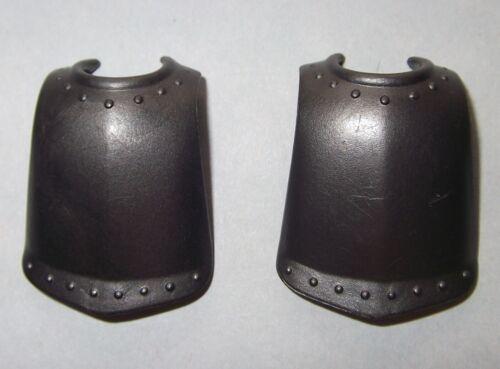glatt Harnisch 17403 Rüstung 2x Brustpanzer anthrazit