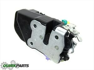 Dodge Durango Dakota Door Latch Power Lock Actuator Front Left Mopar Genuine New Ebay