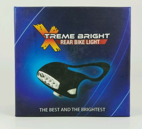 Xtreme Bright Rear Bike Light Black