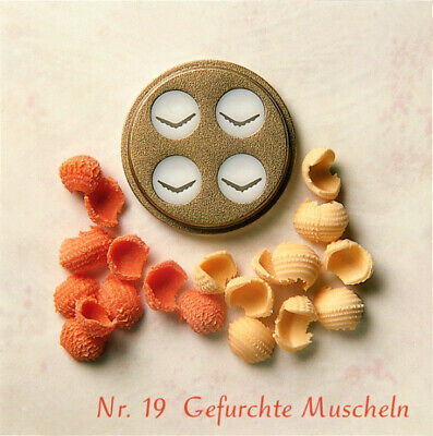 Simac Matrizen PastaMatic Nudel Nudelmaschine Matrize 11 gefurchte Hohlnudeln