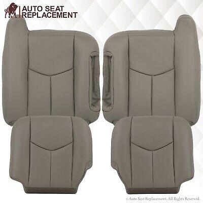 2003-2007 Chevy Silverado Avalanche /& GMC Sierra Seat Cover Dark Gray Vinyl #692
