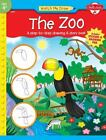 Watch Me Draw: The Zoo : A Step-by-Step Drawing and Story Book by Jenna Winterberg (2006, Paperback)