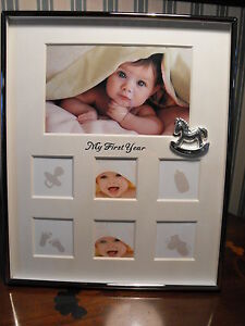 Baby Boy First Year Photo Frame Gift Baby Girl 1st Year Frame 1st