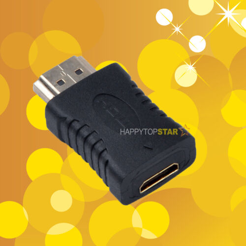 Mini HDMI Type C Female to HDMI Type A Male Adapter for Standard HDMI Ports