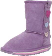 EMU Australia Karama Aubergene Suede Pull-On Boot K10586 Size 3