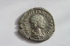 QUALITY ANCIENT ROMAN AQUILIA SEVERA SILVER DENARIUS COIN 3rd CENT AD CAESAR